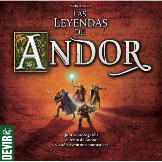 Las leyendas de Andor. ESPAÑOL (sobre pedido)