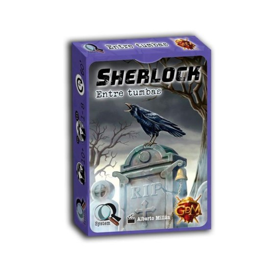 Sherlock: Entre Tumbas ESPAÑOL (SOBRE PEDIDO)