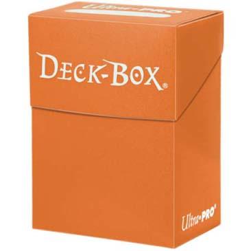 Ultra Pro: Orange Deck Box 80 (SOBRE PEDIDO)