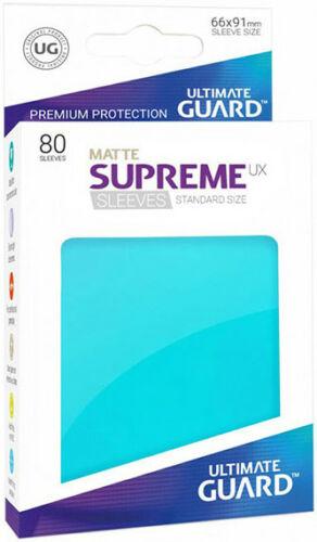 Ultimate Guard Supreme UXSLVS STD Aquamarine (80) (UGD010538CN) (SOBRE PEDIDO)