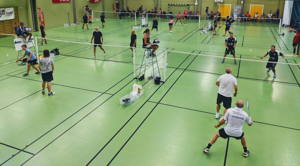 badmintonspel