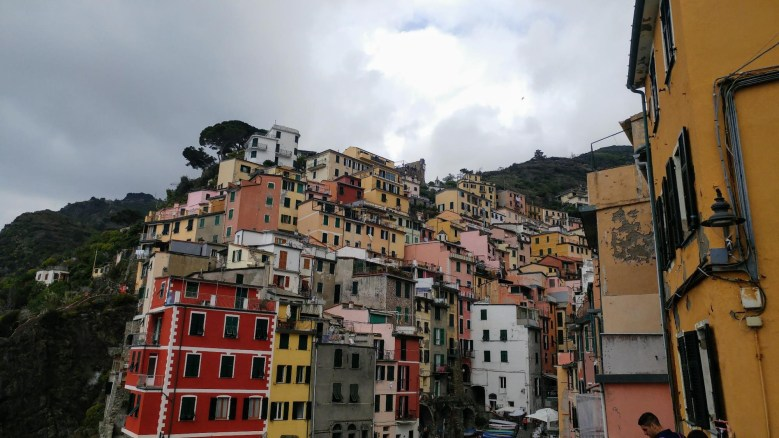 Photo from the Cinque Terre - fishing villages - in Italy