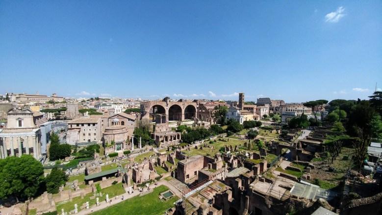 Photo of the Roman Forum