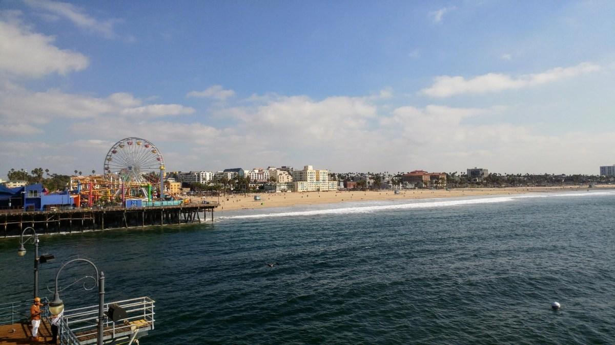 US Road Trip : Santa Monica, Los Angeles