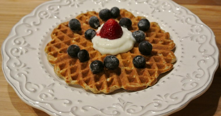 Breakfast For Dinner: Waffle Edition
