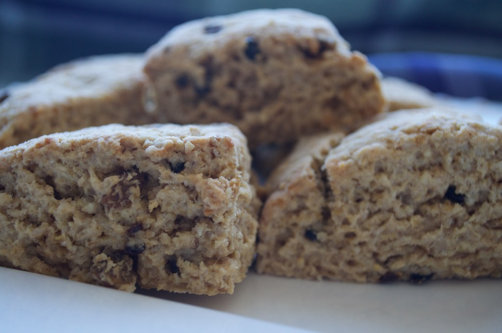 Oat Scones with Currants