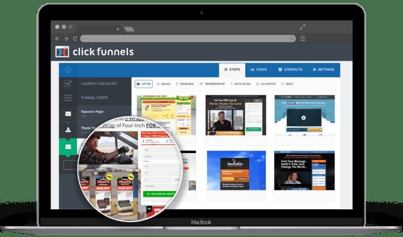 ClickFunnels Vs LeadPages - click start