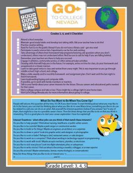 picture of grades 3-5 handout
