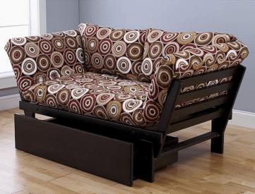 Expresso Elite Frame with Rocking Around Mattress - Sofa Position