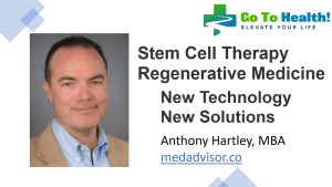 Anthony Hartley Stem Cell Therapy
