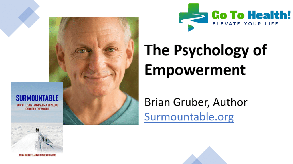 Psychology of Empowerment Brian Gruber Surmountable