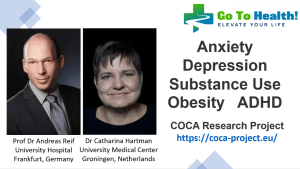 Anxiety Depression Substance Use Obesity ADHD