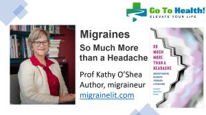 Kathy OShea Migraines So Much More than a Headache