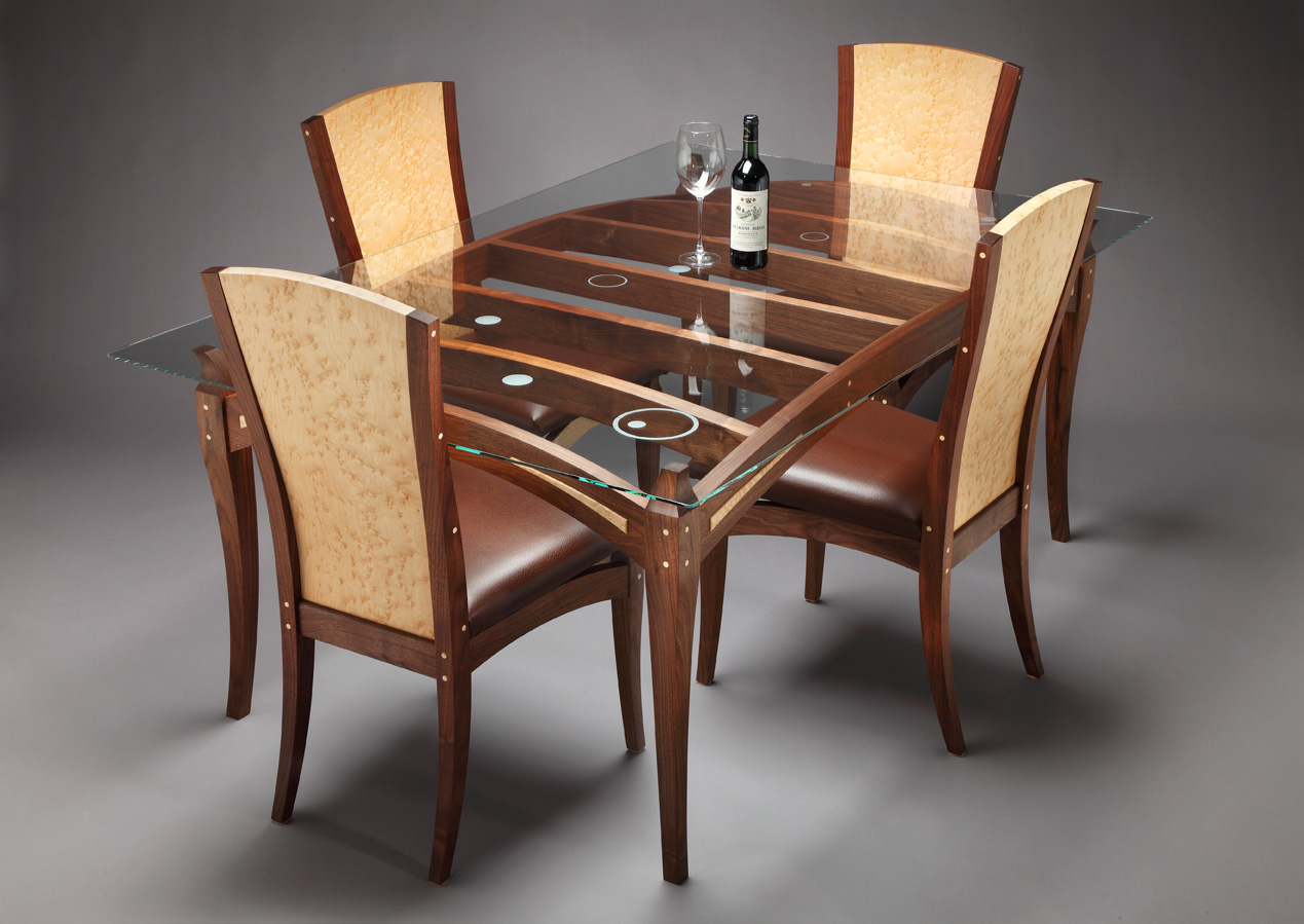 Large Circle Dining Room Table