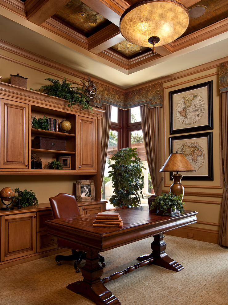 Classic And Elegant Home Office Decor 5988 House