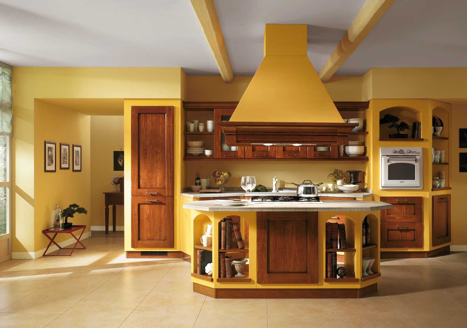 Yellow Italian Kitchen Color Schemes