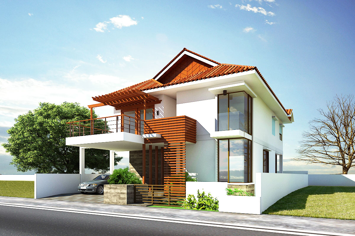 Beautiful Contemporary House Exterior Ideas #7903