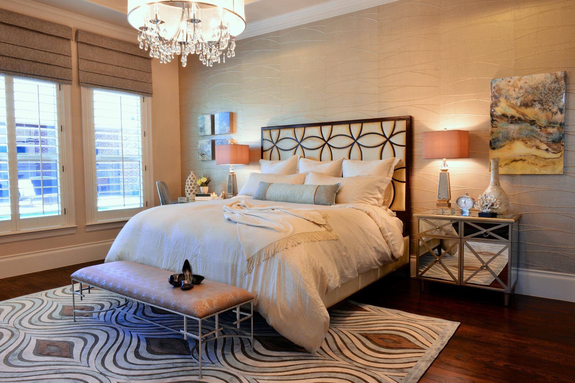 2017 Beautiful Master Bedroom Interior Design Ideas #15000