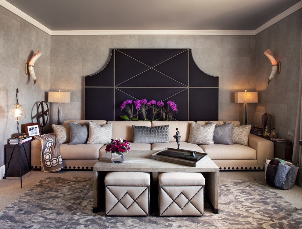 15 Ethnical Style Living Room Design Ideas #18484