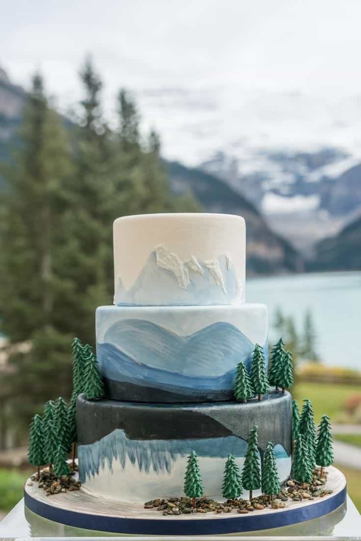 Wedding Cakes Ideas Inspired By Nature 19516 Wedding Ideas