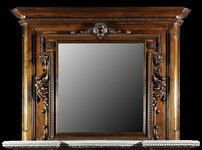 15 Photos Large Antique Mirror