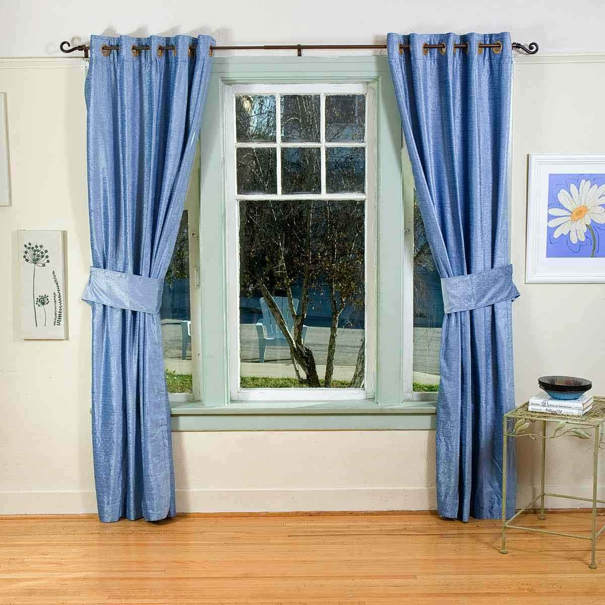 15 Blue Bedroom Curtains