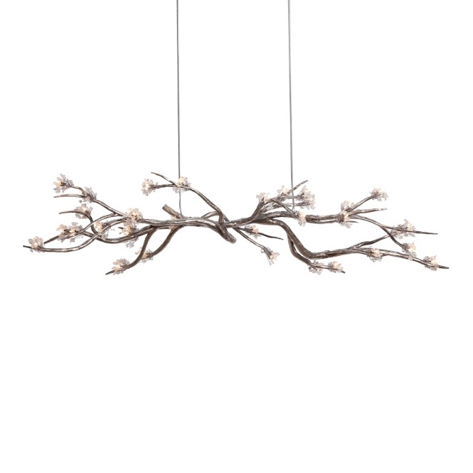 Lighting Cool Chandelier Project With Alluring Tree Branch In Crystal Photo 9 Of