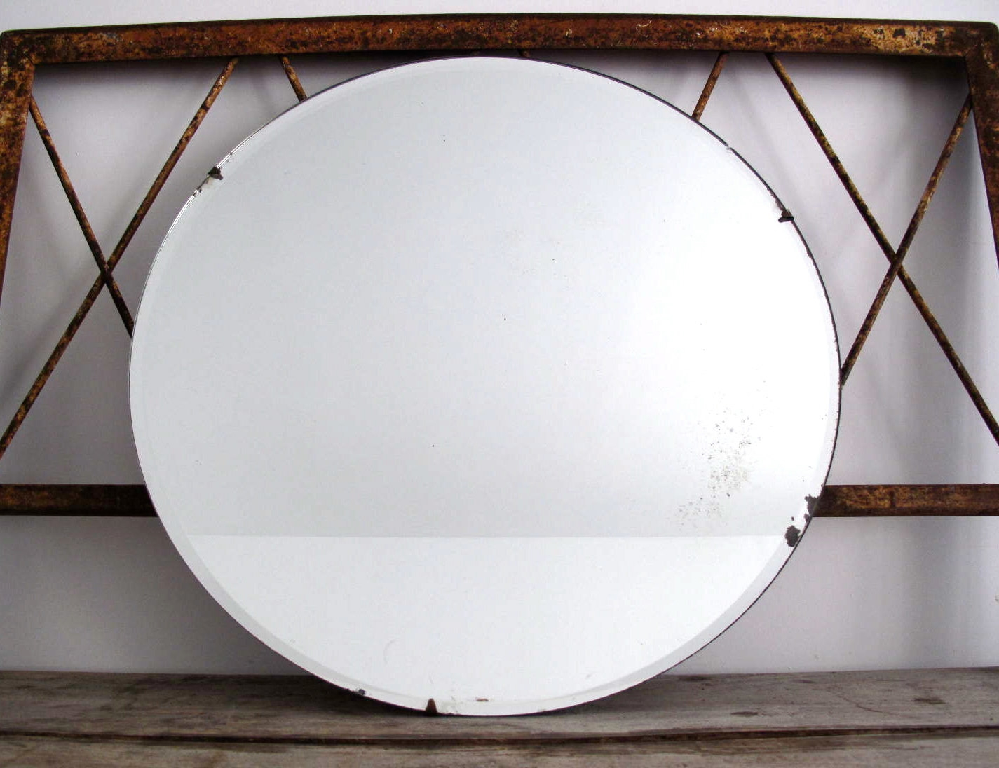 15 Collection Of Antique Round Mirrors