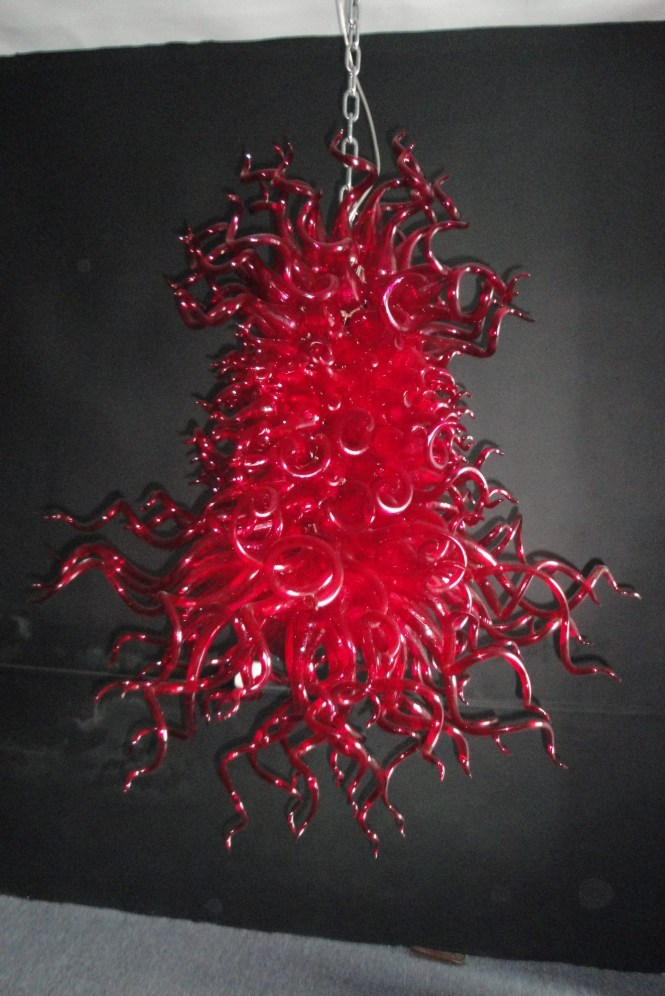 Featured Image Of Modern Red Chandelier