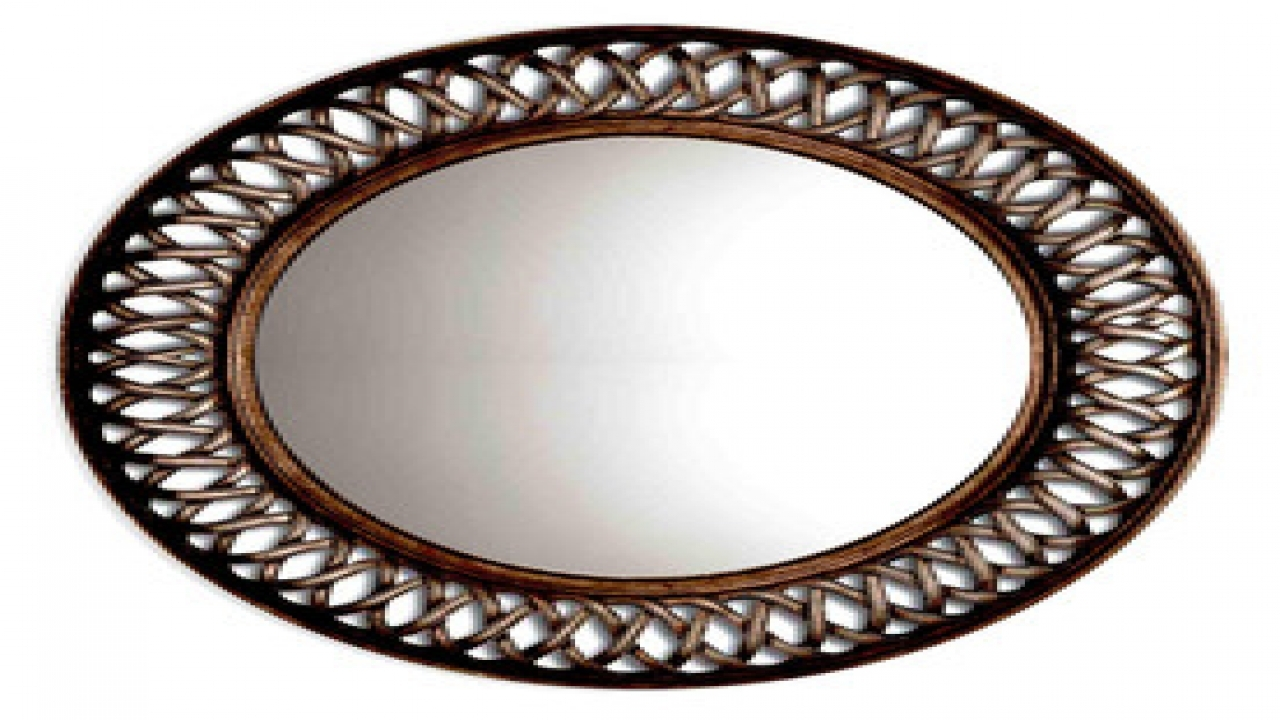 15 Collection Of Bronze Wall Mirrors
