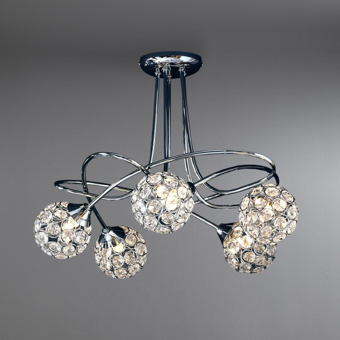 Small Chandeliers For Low Ceilings Home Decor Lighting Ideas Throughout