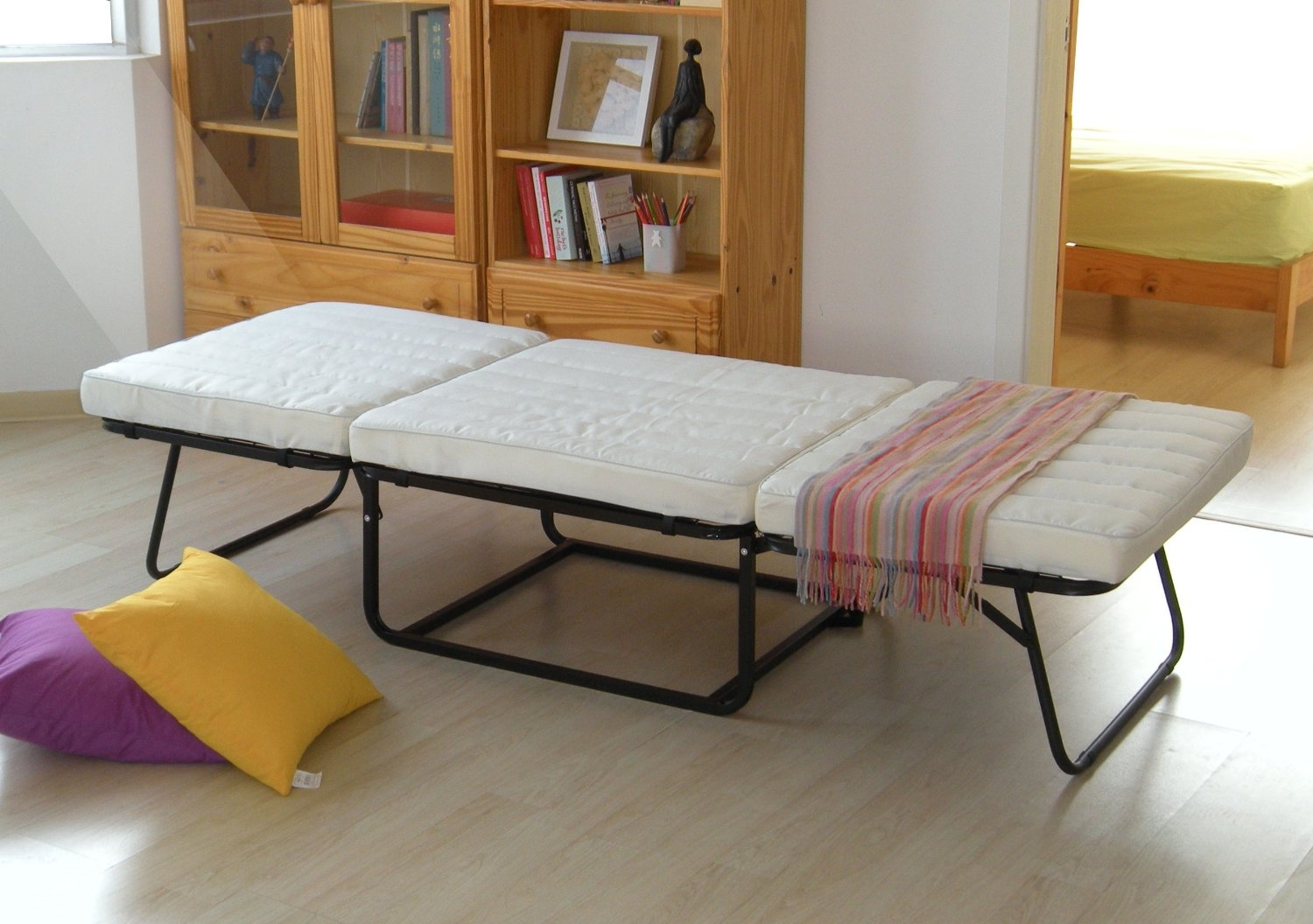Footstool Pouffe Sofa Folding Bed
