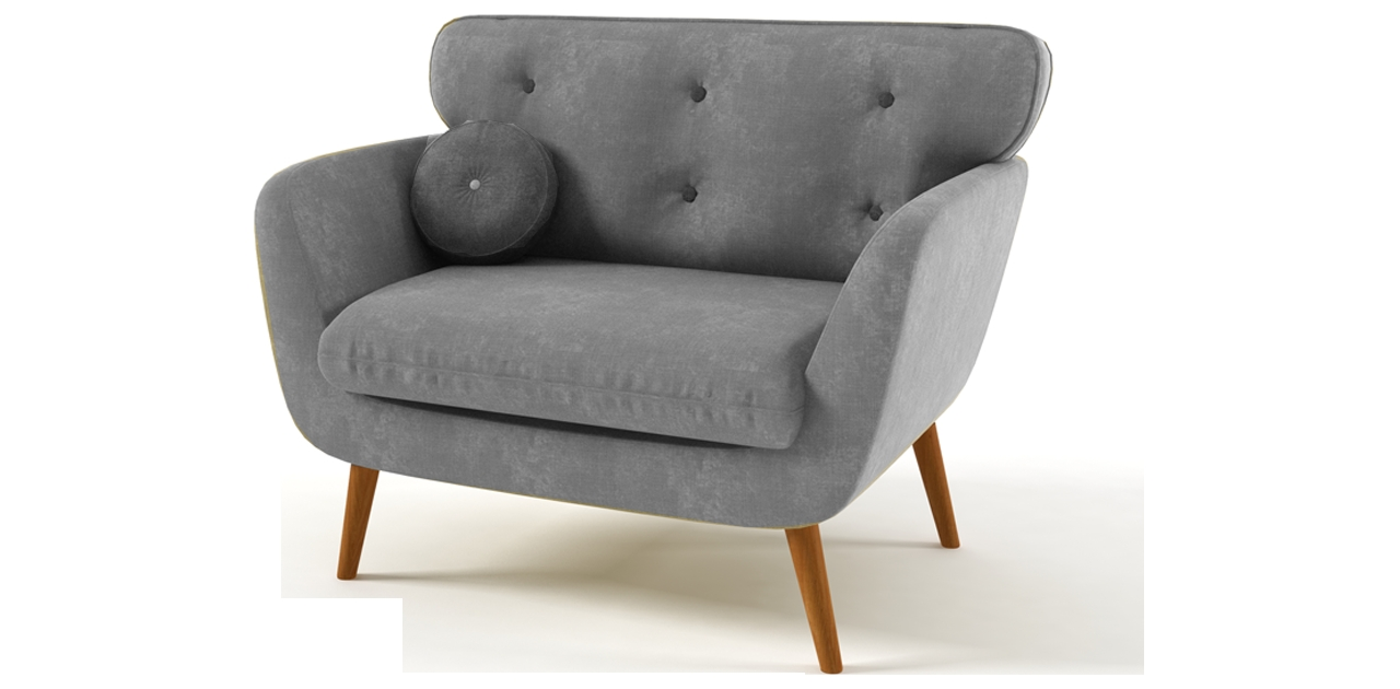 Sillones Vintage Retro Cheap Great Midcentury Danish Modern Sofa  # Mueble Tv Rinconero