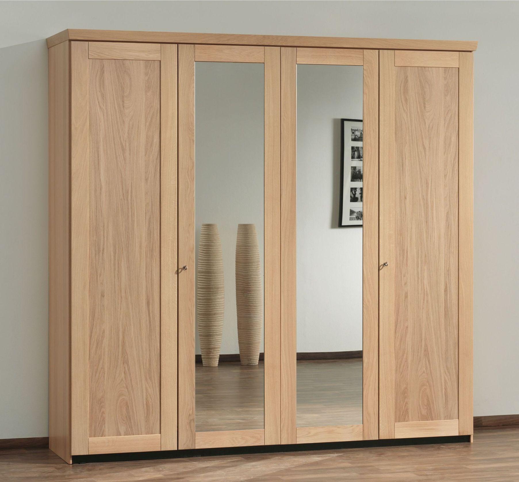 Large Wood Wardrobe Closet