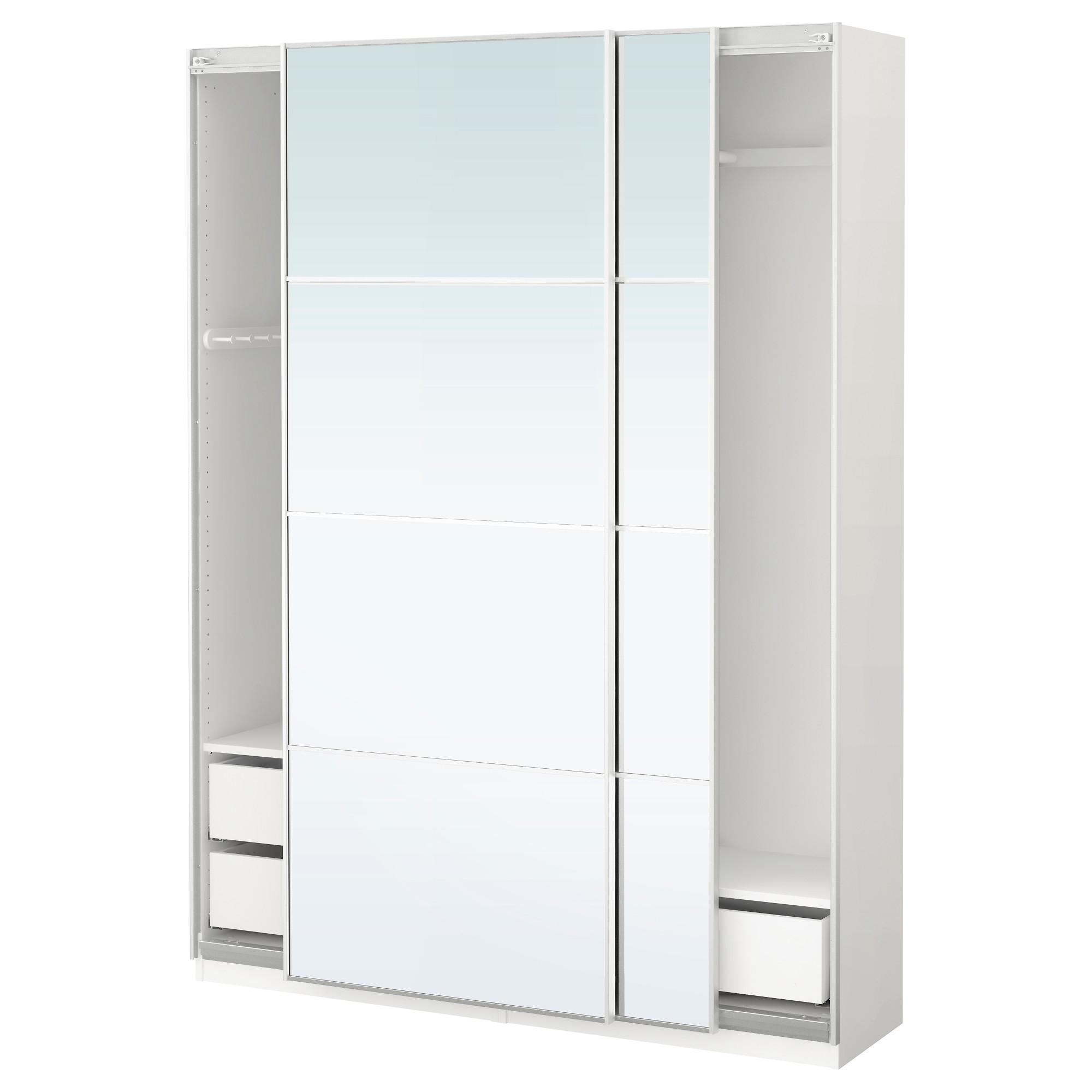 White Corner Armoire Wardrobe