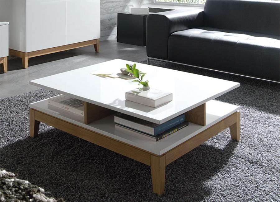 White Wood Coffee Table