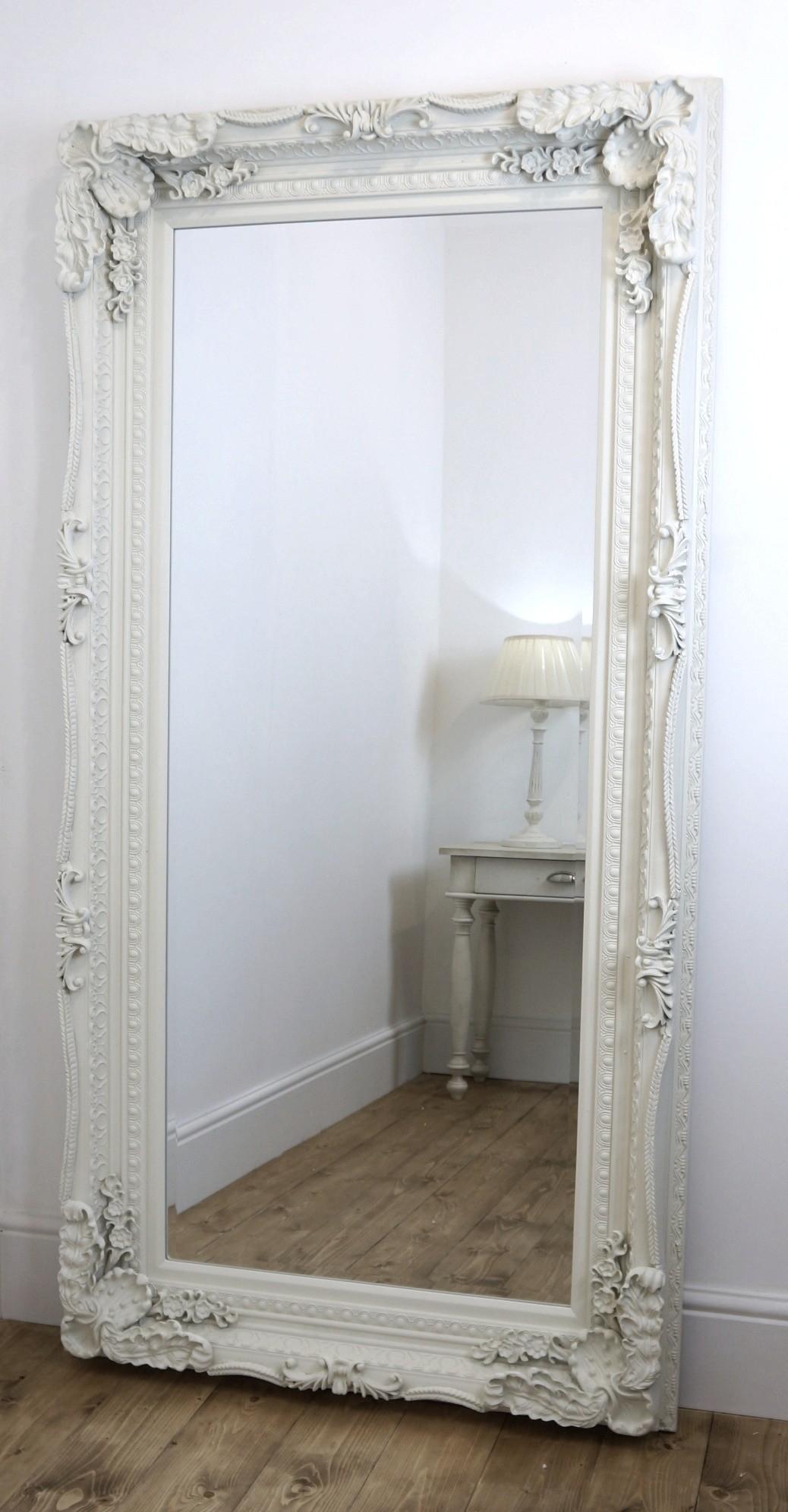 20 Ideas Of Ornate Floor Mirrors