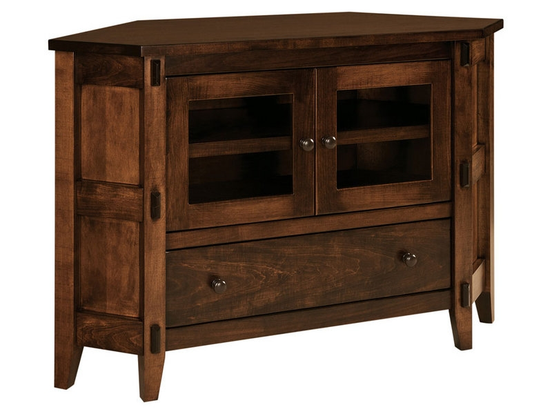 50 Ideas Of Solid Wood Corner TV Stands
