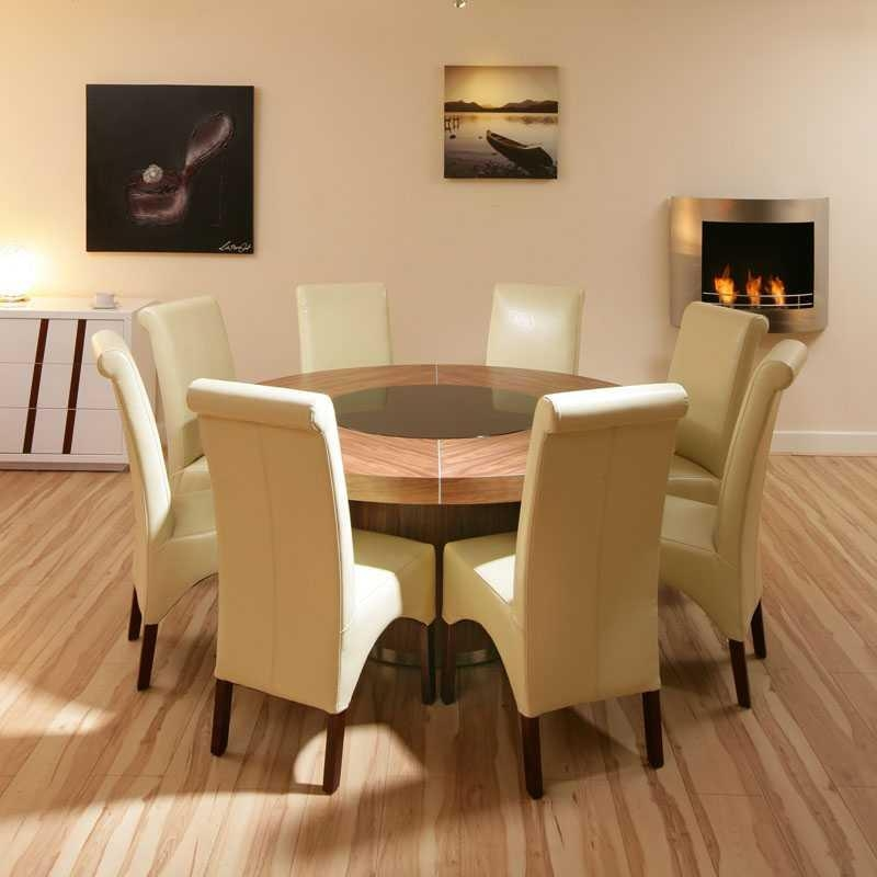 Dining Table 8 Seater Size
