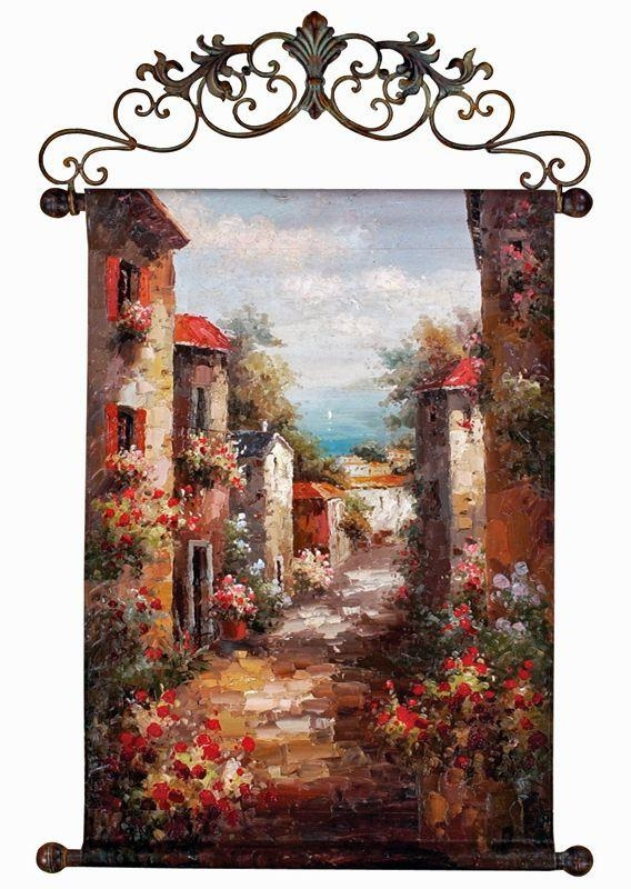 20 Photos Tuscan Italian Canvas Wall Art Wall Art Ideas