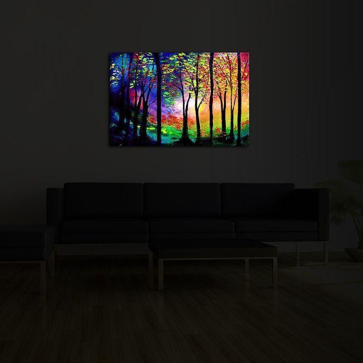 Prints Lights Canvas Led