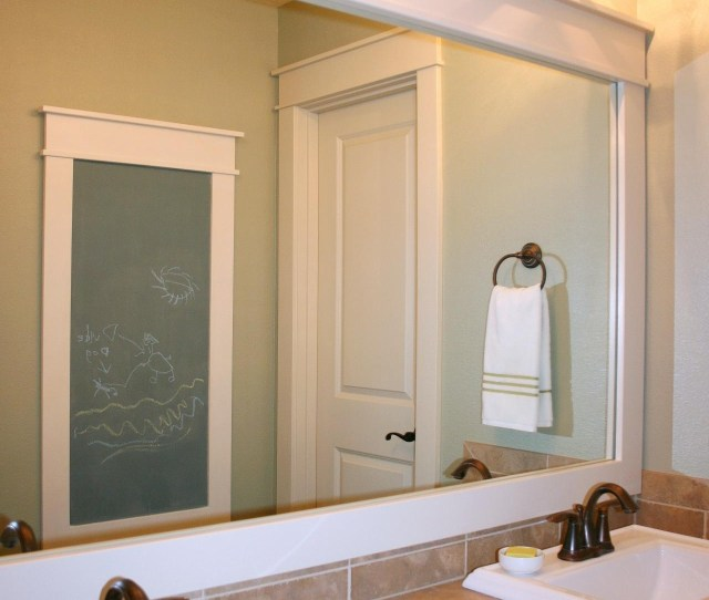 Bathroom Unusual Bathroom Mirror Ideas For Double Vanity Inside Large Framed Bathroom Wall Mirrors