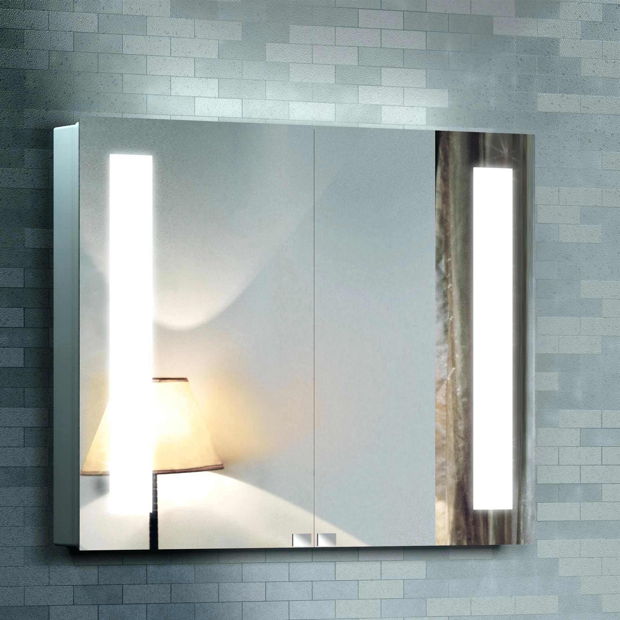 Bathroom Vanity Mirror Built Lights
