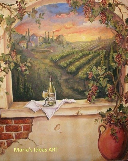 Kitchen Decor Wine Theme