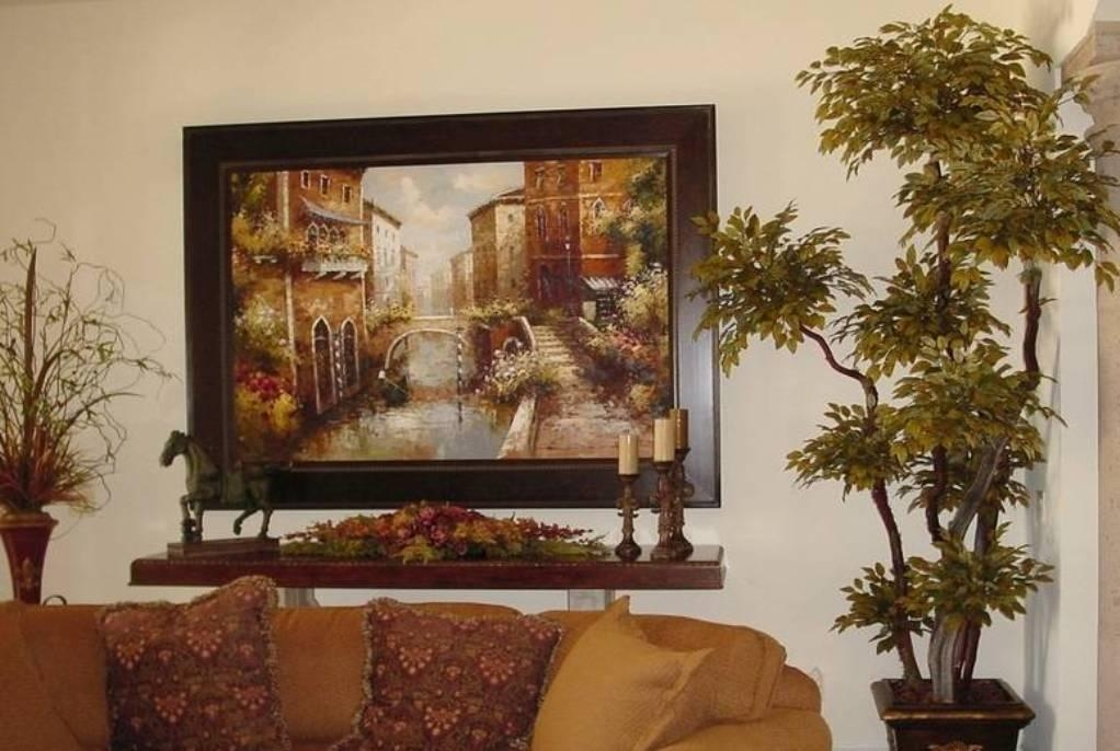 World Paintings Wall Old Tuscan
