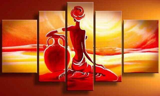 20 Best Ideas India Abstract Wall Art