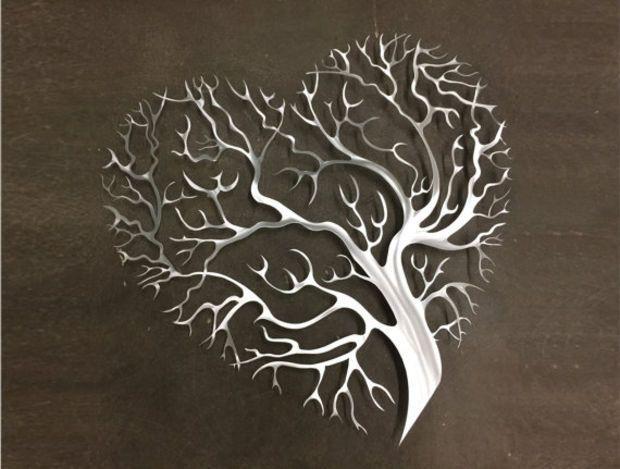 Top 20 Abstract Leaf Metal Wall Art