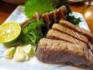 活魚水産 新町店(鰹の塩たたき)