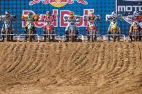 MXR1 - Hangtown 450 gate lineup (RacerX - Cudby Photo)