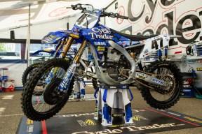CycleTrader 47 YZ ready for Sa Diego SX (VitalMX guy b photo)